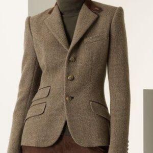 Ralph Lauren Black Label Tweed Blazer